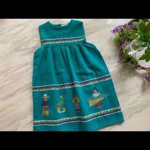 Other - Guatemalan handmade embroidered cotton dress